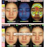魔法ミラーの皮の検光子か顔の皮の検光子