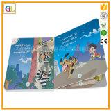 カスタム色刷の子供のボードの本