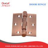 문 기계설비 평지 또는 크라운 볼베어링 강철 경첩 (4.0*3.0*2.5mm)