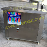Aplicar 4 PCS comerciais moldes Lolly Gelo Gelo Candy Popsicle Maker a máquina
