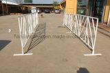 Cerca branca da barreira do evento da cor do tráfego por atacado para a venda (XMR25)
