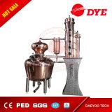 distillateur de cuivre de l'alcool 500L avec le panier de fléau et de genièvre de reflux