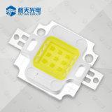 Gran cantidad de lúmenes 10W COB módulo LED chip Epistar 2600-6500K 800-900lm