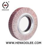 Rotella di lucidatura piana della falda dell'ossido di alluminio per acciaio inossidabile