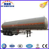 Tri Aluminiumlegierung-Kraftstoff-Tanker-halb Schlussteil der Wellen-42000L