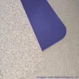 Tapete de Yoga cortiça pelas noções básicas de TPE
