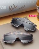 تصميم جديد يزيّن ماس باردة جذّابة أسود بلاستيكيّة حزب نظّارات شمس