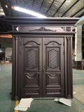 Двойная дверь типа новой двери конструкции алюминиевой европейская для обеспеченности виллы