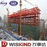 Estructura de acero de espacio de construcción materiales de construcción con vigas de acero
