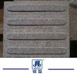 Het goedkope Opgepoetste Geslepen Graniet Bushhammer tuimelde Blinde Straatsteen voor Gang of Oprijlaan