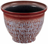 高品質の装飾的なプラスチック植木鉢(KD9481K)