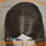 Peluca superior de seda de las mujeres del pelo de la Virgen (PPG-l-0592)