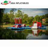 Più forte sosta esterna per i giochi dell'acqua, sosta gonfiabile dell'acqua, strumentazione utilizzata del PVC della sosta dell'acqua da vendere