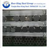 La ronda previa de 6 pulgadas de tubo de acero galvanizado, 165mm de diámetro del tubo digestivo