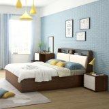 商業金属の寝台によって装飾される緑のベッド(HX-8ND9530)