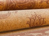 Couvre-tapis durables et légers de couvre-tapis de yoga de liège de couvre-tapis de forme physique
