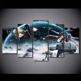 [هد] طبع 5 [بيس كنفس] فنية [موفي ستر ور] يدهن جدار صور زخرفة يشكّل صورة زيتيّة تضمينيّة مجّانا يشحن