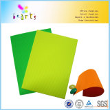A4 Papier ondulé Fluorescent cannelure