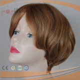 De hoge Pruik van het Haar van het Haar van het Eind Europese Blonde
