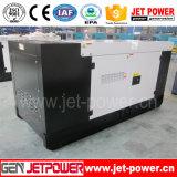 Générateur diesel silencieux triphasé de 415V Weichai 8kw avec la remorque