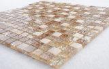 Decorazioni del giardino che collegano il mosaico di vetro della miscela delle mattonelle di marmo della pietra