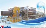 De HDPE PU revestimento isolante térmico do tubo da linha de produção
