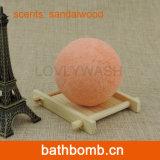Bagno asciutto della STAZIONE TERMALE del fiore della Rosa dell'alto olio dell'essenza Fizzy/bombe che imbiancano bagno romantico d'idratazione