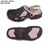 EVA chico caliente obstruir los zapatos con suela de piel