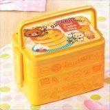 Doos van de Lunch van de Container van het Voedsel van de Doos van Bento de Plastic met Vork en Lepel 20013