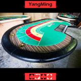 كازينو رفاهية نوع ذهب لون محراك طاولة مصنع عادة تحسين يقامر طاولة مع 8 لاعب من 2.8 عدّاد ([يم-ب09])
