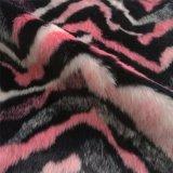 Het roze MultiBont van Faux van de Stapel van de Kleur Lange voor Kledingstuk, Kussen en Zak