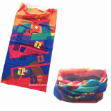 Factory Produce Customized Logo Polyester Microfiber Tubies Bandanna with Header Card