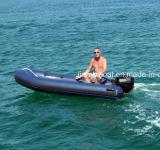 Liya do barco aberto do reforço de 4m a de 5.2m barco inflável do pontão
