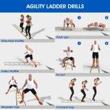 De Ladder van de Behendigheid van de Apparatuur van de Opleiding van de Snelheid van de voetbal