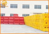 Barricade van de Weg van de Barrière van de Veiligheid van de weg RubberWater Gevulde Plastic