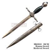 Европейский кинжал рыцаря кинжал 37.5cm HK201 кинжала шпаги офицера исторический