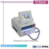 Ordinateur portable de nouvelle conception Q-switched Nd YAG LASER de dépose de la machine de tatouage