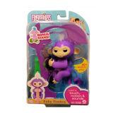ギフトのおもちゃのための紫色のFingerlingsの赤ん坊猿