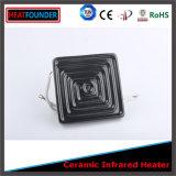Plaque en céramique infrarouge industrielle de chaufferette