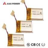 UL 502025 het Navulbare 3.7V Li-Polymeer Lipo van de Batterij van het Polymeer van het 180mAhLithium