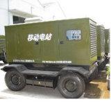 2000kw 2500kVA 트레일러에 의하여 거치되는 유형 발전기 세트 (16V4000G63)