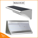 LED de energia solar no exterior do jardim de segurança de emergência luz de parede do Sensor de movimento