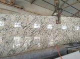 Белый Orion гранита полированной плитки&слоев REST&место на кухонном столе