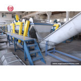 Plastic Recycling Machine with Compactor for PE Film Pelletizing