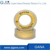 ガステープのための12mmの黄色100% PTFEの糸のシールテープ