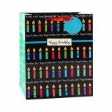Geburtstag-Stern-Kleidungs-Schuh-Spielzeug-Kuchen-System-Geschenk-Papiertüten