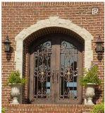 Luxuxlandhaus-bearbeitetes Eisen-Tür-Stahltüreinstieg-Tür