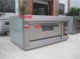 Matériel de boulangerie de four de gaz du luxe 1-Deck 2-Tray de Guangzhou