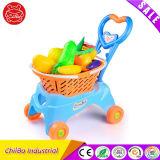 Sicherheits-pädagogische Plastikkind-MiniEinkaufswagen-Spielzeug