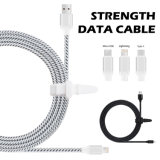 2.4A rápido 3m Cable USB y cable de sincronización de datos para el tipo-C